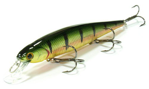 Воблер Lucky Craft Slender Pointer 112MR-884 Aurora Gold Northern Perch от интернет-магазина giz.by