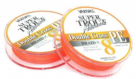 Шнур Super Trout Advance Double Cross 91м 1 Orange от интернет-магазина giz.by